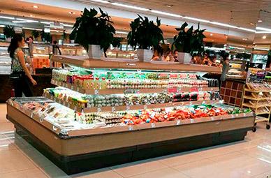 合肥-超市-环形岛柜