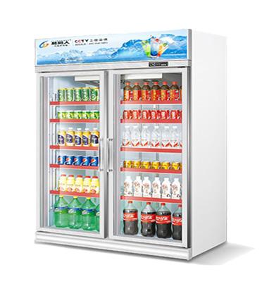 双门饮料展示柜