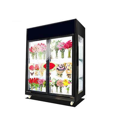 双门鲜花柜