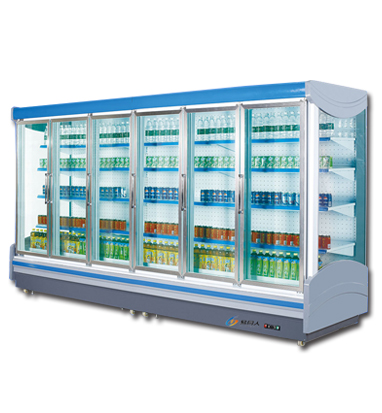 B款玻璃门冷柜