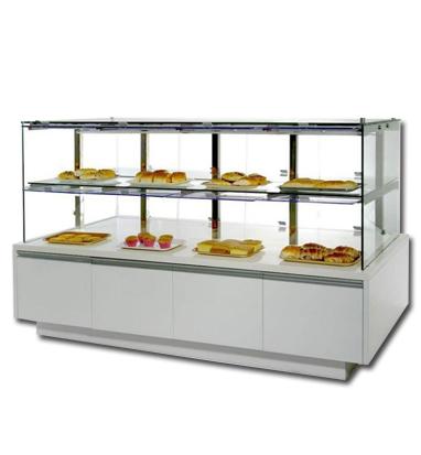 白色双层蛋糕柜