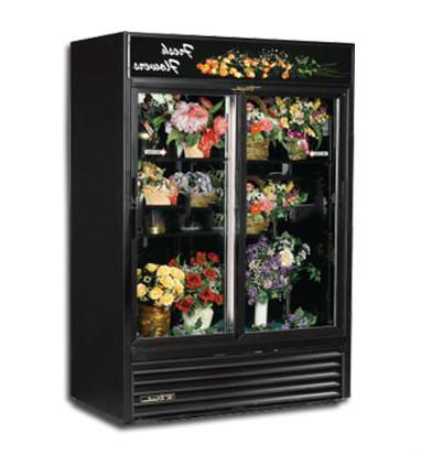 绚烂黑夜鲜花柜