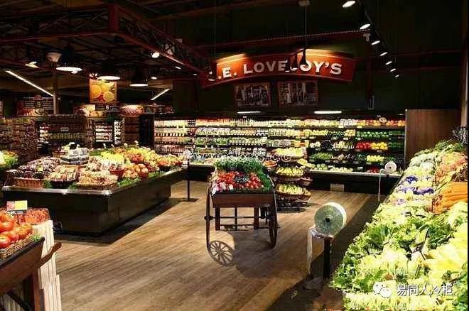 生鲜超市消费:新体验的设计零售!医疗建筑设计包含专业图片