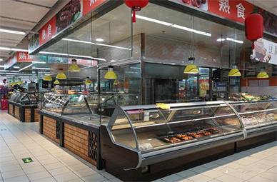 北京丰台区银座超市风幕柜案例分析