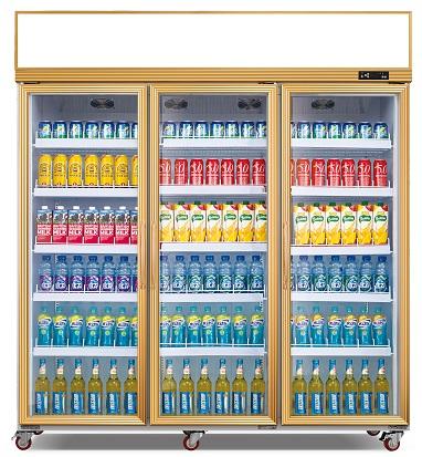 三门饮料展示柜