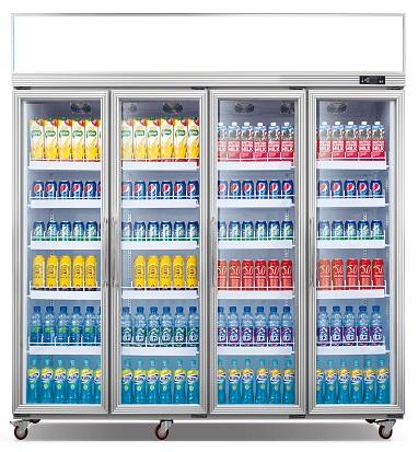 四门饮料展示柜